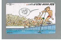 ISRAELE (ISRAEL) -   2000 SPORT: SWIMMING  - USED  -  RIF. 10881 - Israele
