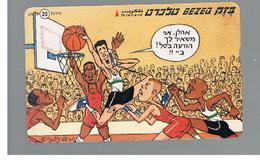 ISRAELE (ISRAEL) -   2000 SPORT:   BASKETBALL  - USED  -  RIF. 10882 - Israel