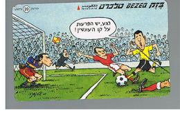 ISRAELE (ISRAEL) -   2000 SPORT:   FOOTBALL  - USED  -  RIF. 10882 - Israele