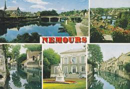 77 NEMOURS / MULTIVUES - STATUE - Nemours