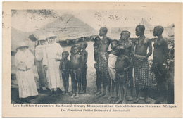 COTE D'IVOIRE, Sinématiali - Petites Servantes Du Sacré Coeur, Seins Nus - Missionnaires Catéchistes - Ivory Coast