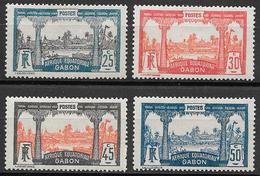 Poste 1922-vue De Libreville-YT N°s 84-87-NEUF X - Gabon (1886-1936)