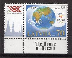 LATVIA -  SYDNEY 2000 OLYMPIC GAMES  O549 - Sommer 2000: Sydney - Paralympics