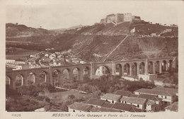 MESSINA  /  Forte Gonzaga E Ponte Della Ferrovia _ Viaggiata 1924 - Messina