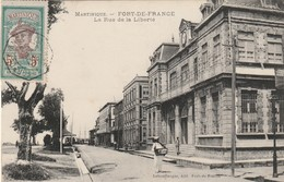 Martinique - Fort De France - La Rue De La Liberté - écrite Et Voyagé - Fort De France
