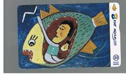 ISRAELE (ISRAEL) -   2001 JONAH IN THE FISH  - USED  -  RIF. 10882 - Israel