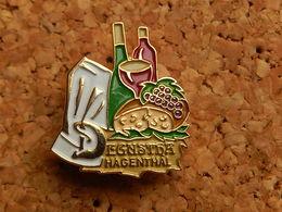 Pin's  -     DEGUSTHA  HAGENTHAL  HAUT RHIN - Cities