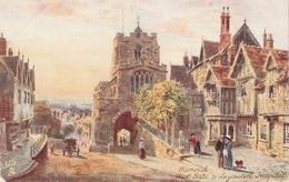 """""""H.B.Wimbush. Warwick . West Gate Tuck Oilette PC # 7959 - Tuck, Raphael"""