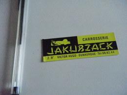 Autocollant - Ville - DUNKERQUE - Commerce CARROSSERIE JAKUBZACK - Adesivi