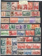 MAROC-TIMBRES DIVERS ET ALGERIE(POSTE AERIENNE) - Morocco (1956-...)