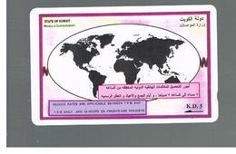 KUWAIT - GPT M.O.C - 1993  OVERSEAS OFF PEAK    -     USATA (USED)  -  RIF. 10883 - Kuwait