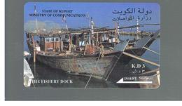 KUWAIT -  GPT  M.O.C.  -  1993  THE FISHERY DOCK -    USATA (USED) -  RIF. 10883 - Kuwait