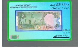 KUWAIT - GPT M.O.C - 1993  BANKNOTE  -    USATA (USED)  -  RIF. 10883 - Kuwait