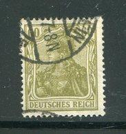 ALLEMAGNE EMPIRE- Y&T N°125- Oblitéré - Deutschland