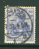 ALLEMAGNE EMPIRE- Y&T N°127- Oblitéré - Allemagne