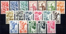 Col 7 : Togo  Neuf XX MNH  N° 236 à 253 Cote 35,00 € - Togo (1914-1960)