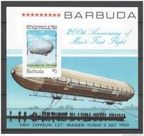 ZEPPELIN Sheet MNH (A) - Antigua And Barbuda (1981-...)