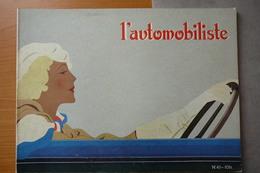 L'AUTOMOBILISTE N° 41  1976  L'AUTOMOBILISME AU FEMININ - Auto