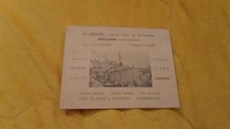 ENVELOPPE UNIQUEMENT  DE 1950. / BONNETERIE TROYENNE MAISON A. GUILLARD LE CROISIC. / AU DOS ILLUSTRATION LE CROISIC CEN - Marcophilie (Lettres)
