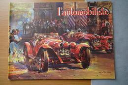 L'AUTOMOBILISTE N° 43  1976  LES ALFA ROMEO 6C 1750 - Auto