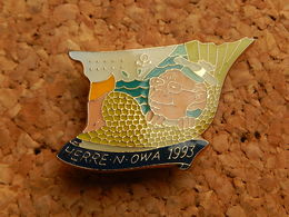 Pin's - Puzzle Du HERRE-N-OWA 1993, ( Théâtre Alsacien De Mulhouse) - Cities