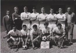 FOOTBALL CP EQUIPE OLYMPIQUE DE LYON 1966/67  COUPE DE FRANCE - Autres