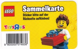 SAMMELKARTE Lego Toys Rus  Gift - Gift Cards