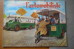 L'AUTOMOBILISTE N° 46  1977  LES AUTOBUS PARISIENS - Auto
