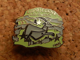 Pin's - CAPRICORNE - Signé C.wolch - Other