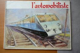 L'AUTOMOBILISTE N° 62  1983  BUGATTI L'AUTORAIL , ALPINE BERLINETTE - Auto