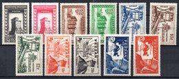 Col 7 :Fezzan  Neuf X MH   N° 43 à 53 Cote 50,00 € - Fezzan (1943-1951)