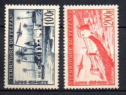 Col 7 :Fezzan  Neuf X MH  PA  N° 6 & 7 Cote 23,00 € - Fezzan (1943-1951)
