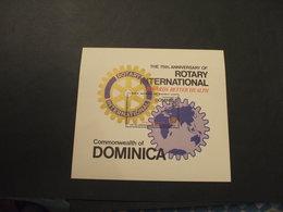DOMINICA - BF 1980 ROTARY  - NUOVI(++) - Dominica (1978-...)