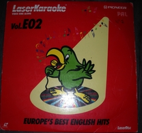 LASER KARAOKÉ PIONEER  VOL. E02  EUROPE'S BEST ENGLISH HITS - Compilations