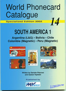 WORLD PHONECARD CATALOGUE-14-SOUTH AMERICA 1 - Phonecards