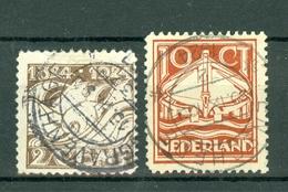 Nederland/Pays-Bas  1924  Yv. 157/158, NVPH 139/140, Mi 141/142 - 1891-1948 (Wilhelmine)