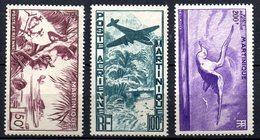 Col 7 :Martinique   Neuf X MH / XX MNH  PA  N° 13 à 15 Cote 63,80 € - Airmail