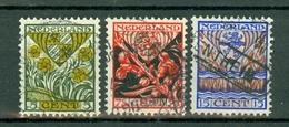 Nederland/Pays-Bas  1927  Yv. 196/198, NVPH 209/211, Mi 202/204 - 1891-1948 (Wilhelmine)