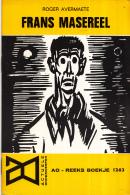 AO-reeks Boekje 1263 - Roger Avermaete: Frans Masereel - 16-05-1969 - Histoire