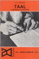AO-reeks Boekje 1314 - A.C. Nielson: Taal Communicatie En Barriere - 22-05-1970 - Geschiedenis