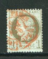 Y&T N°50- Cachet Rouge Des Imprimés De Paris - 1871-1875 Ceres