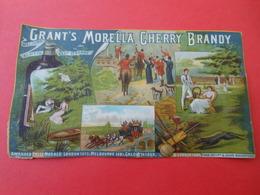 Moyen Chromo/Grant's Morella Cherry Brandy / Angleterre/Grant & Sons Maidstone/ Vers 1890-1900   CHRO65 - Chromos