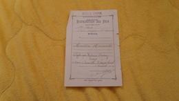 DISTRIBUTION DES PRIX ECOLE LIBRE DE VERNOU SUR BRENNE. MENTION HONORABLE DE 1912. - Unclassified