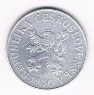 10 HALLER 1956 TSJECHOSLOWAKIJE /2186G// - Czechoslovakia