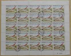 DJIBOUTI / PA 140  EN FEUILLE COMPLETES OB / COTE 57.50 EUROS (ref 1078) - Djibouti (1977-...)