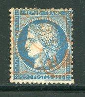 Y&T N°60A- Cachet Rouge Des Imprimés De Paris - 1871-1875 Ceres