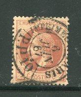 Y&T N°26- Cachet Noir Des Imprimés De Paris - 1863-1870 Napoleone III Con Gli Allori
