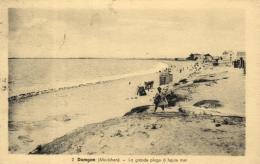B 4116 - Damgan (56)   La Grande Plage A Haute Mer - Damgan