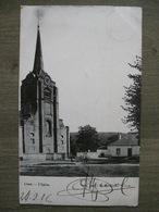 Cpa Limal (Wavre) - L'église - Imp. Papeterie Charlier-Niset - 1906 - Wavre