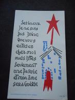 IMAGE PIEUSE Communion 1962 VERSAILLES Jeanne D'Arc - Religion & Esotérisme